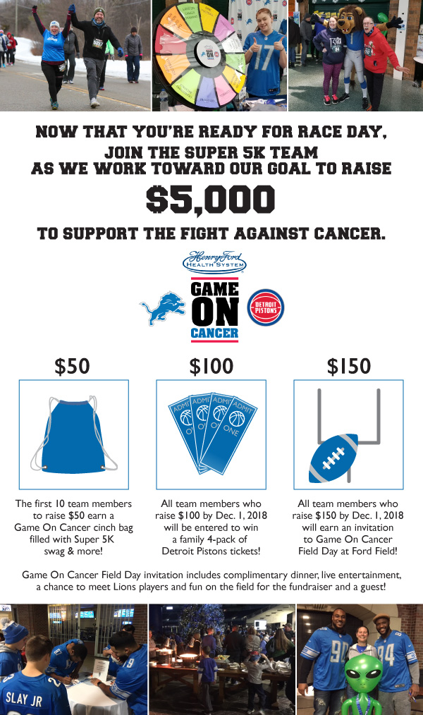 Super5K Game On Cancer fundraising graphic web rev